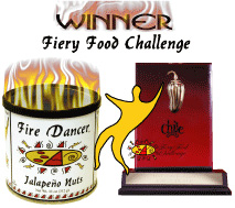 Fire Dancer Jalapeno Peanuts Win Fiery Food Challenge